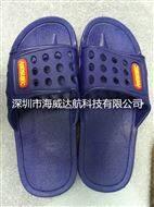 防靜電帶孔透氣性強拖鞋
