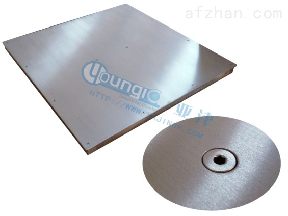 2T不锈钢小地磅带打印电子地磅多少钱
