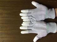 绦纶导电防静电涂层手套防静电手套