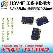 H3V4F低电压低功耗接收模块