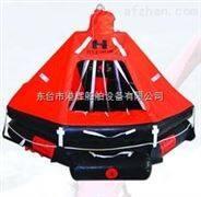 救生設備:可吊式氣脹式救生筏