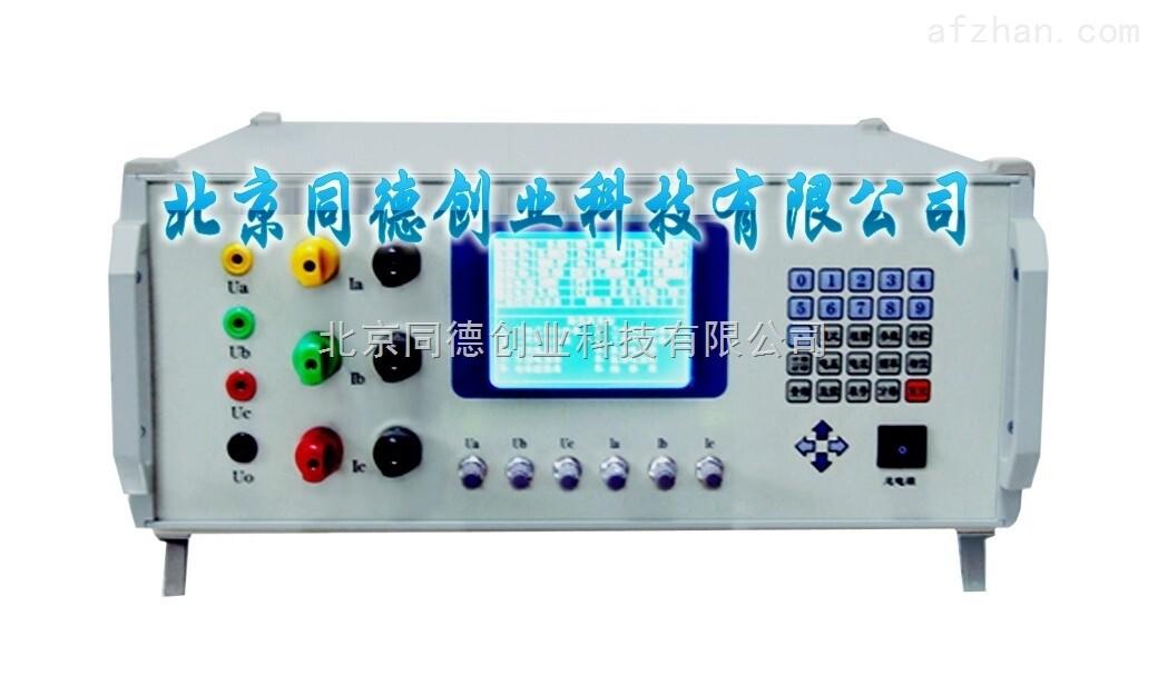特价多功能校准仪 型号:DO-3020A 一、产品概述 DO-3020A型多功能校准仪,是根据 标准和规程而设计的一种检定装置,不需要外配标准表,可对0.5级以下单、三相交/直流电压表,交/直流电流表,功率表进行自动或手动校验,此外还可以对频率表、相位表、功率因素表、变送器、电力负荷变量器、功率继电器进行校验检定。 特价多功能校准仪 二、主要特点 1、数字调频、调相、调幅、智能化设计、操作由键盘控制; 2、电压、电流输出具有恒压、恒流特性,定频、定相功能; 3、多功能标准表具有功率、电能、交/直流电压、交