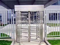 三翼彎弧全高滾閘,邯鄲車站手動單向不銹鋼旋轉閘,全高轉閘廠家