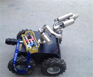 轮带式灭火机器人