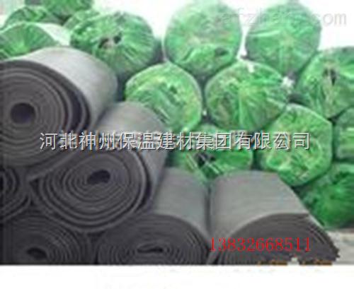 橡塑公司供应日照市优质B1级神州橡塑保温板//阻燃橡塑版