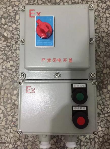 带远程控制防爆电机保护开关