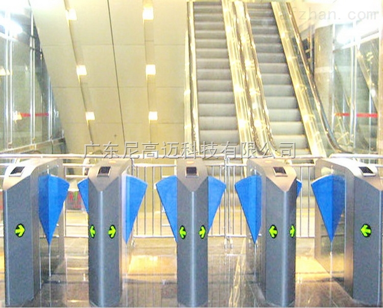 电梯口出入按钮开关扇形自动翼闸