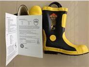 消防員滅火防護靴 消防膠靴 底部帶鋼板 消防靴子