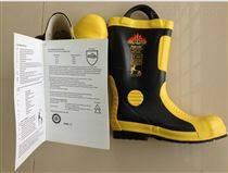 消防员灭火防护靴 消防胶靴 底部带钢板 消防靴子