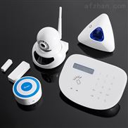 GSM+PSTN报警器电话座机报警器全触摸按键超清字库屏
