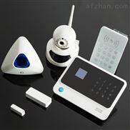 WIFI家用报警器GSM+WIFI无线商用报警器家用安防报警系统