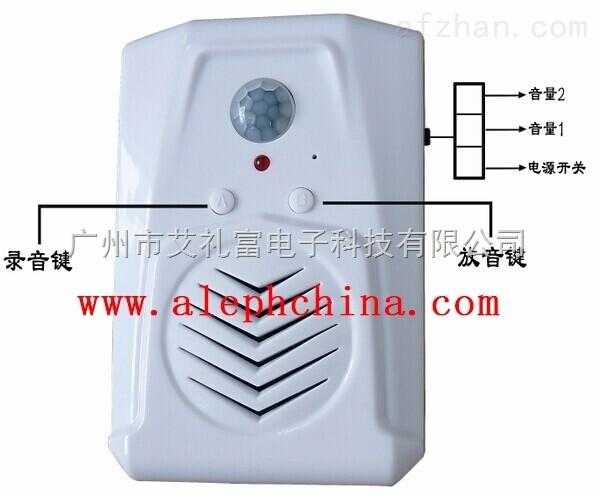 原装供应艾礼富智能语音播放器,智能语音报警器ws-ly168