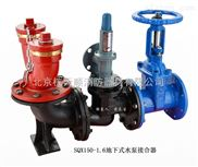 消防水泵结合器价格,SXQ150-1.6地下式水泵接合器报价