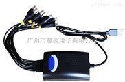 NK-AHD401USB-AHD 4路USB采集盒(同軸采集卡)