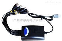 AHD 4路USB采集盒(同軸采集卡)