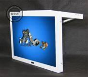 客安达17/19/22寸吸顶式液压杆车载显示器可伸缩车用显示屏