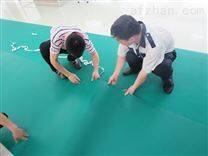 电子制造业选用创选宝绿色抗静电地胶垫高密度更耐用
