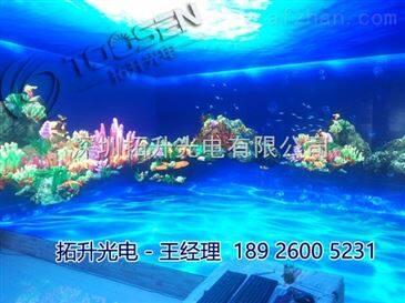 酒店墙面p4全彩led电子显示屏制作厂家报价