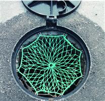 绿色聚乙烯防坠网
