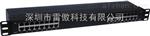 LA-RJ45-16H雷傲科技厂家供应16路机架式网络百兆信号防雷器