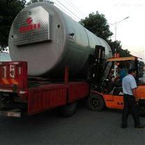 广西一体化污水提升泵站玻璃钢筒体