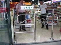 超市旋转式单向门