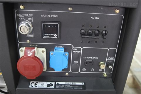 5kw三相电启动发电机 厂家销售