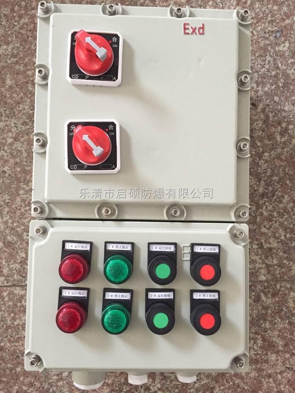 污水泵潜水泵防爆控制箱