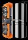深圳艾礼安四光束红外对射ABH-100L变频红外对射报警器