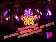铜川录音室内P2超清LED全彩电子显示屏锐柏整套DJ台电子屏