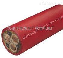 MYQ5*1.0矿用橡套电缆 MYQ轻型照明电缆