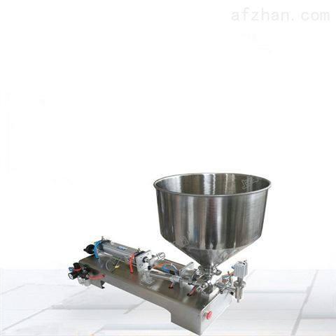 供应半自动立式秋梨膏定量单头膏体灌装机