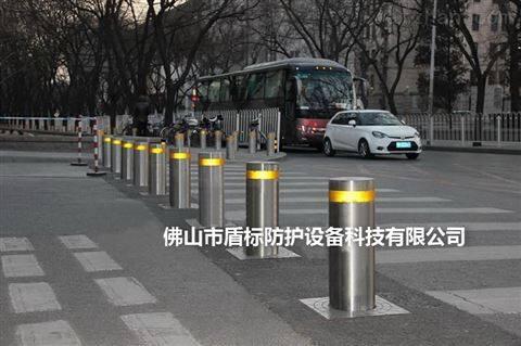 人行通道阻车挡车器 防撞液压升降柱路障
