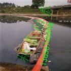 西安水面飘浮垃圾控制围栏浮筒 拦污浮筒
