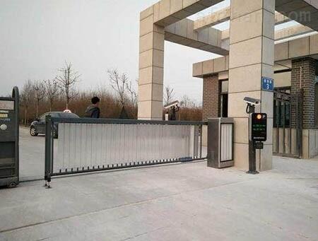 遼陽車牌識別停車場系統