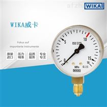 威卡WIKA波登管压力表铜合金材质111.11