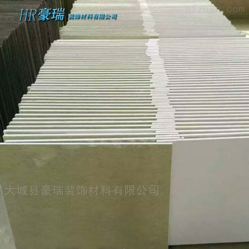 豪瑞岩棉玻纤吸音板品质