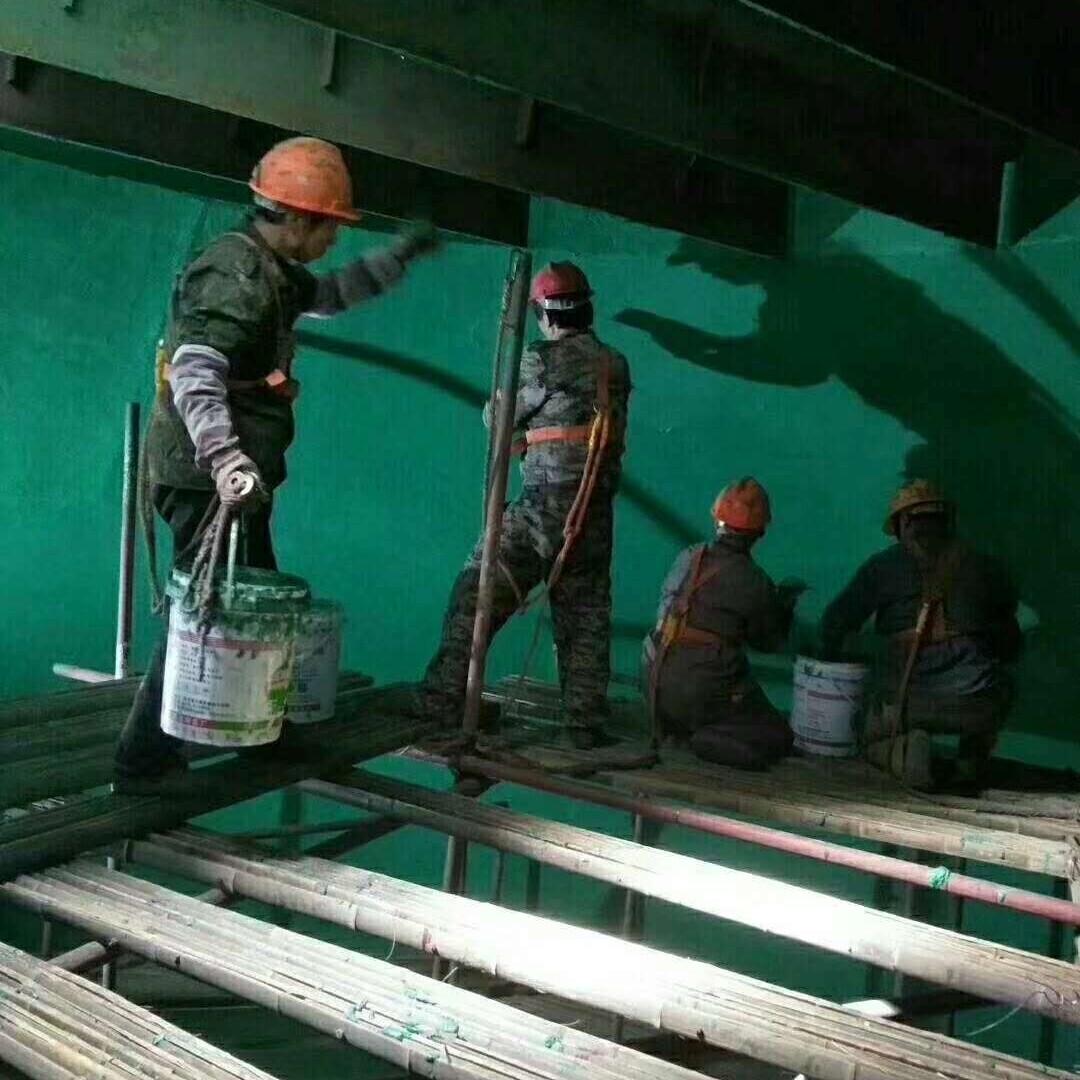 揭阳电厂吸收塔防腐材料施工队