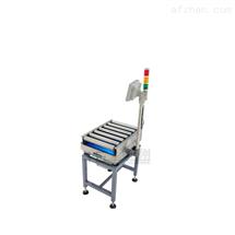 滚筒秤碳钢定制分向滚筒秤,无动力滚筒电子打印称