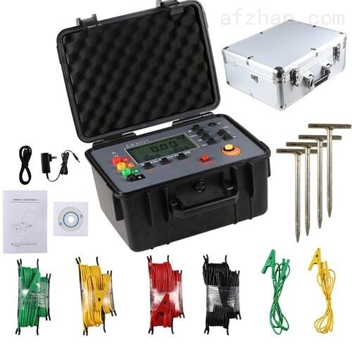 电力承试四级接地电阻测试仪