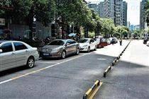 城市路边停车系统停车泊位