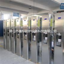DB-TW002旅游景点大门口不锈钢自动测温酒精消毒立柱