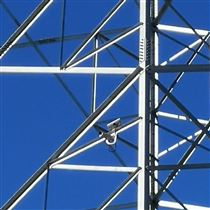 三跨线路状态智能预警系统输电线路视�e频图像