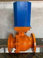 DQF电动球阀 DQF-125 均化库专用