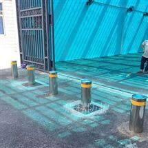DB盾标防护阻车升降桩 不锈钢伸缩式升降柱