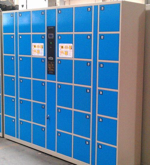 12门电子储物柜