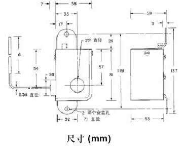 220v温度控制器接线图低温