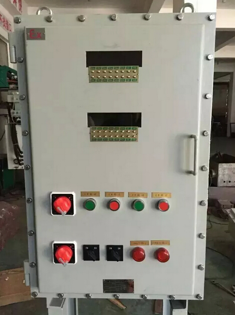 消防风机信号灯控制箱接线图