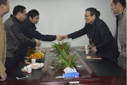 热烈欢迎湖北省公安厅领导莅临虹识考察指导工