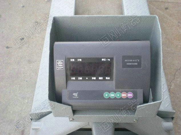 电子叉车秤细节